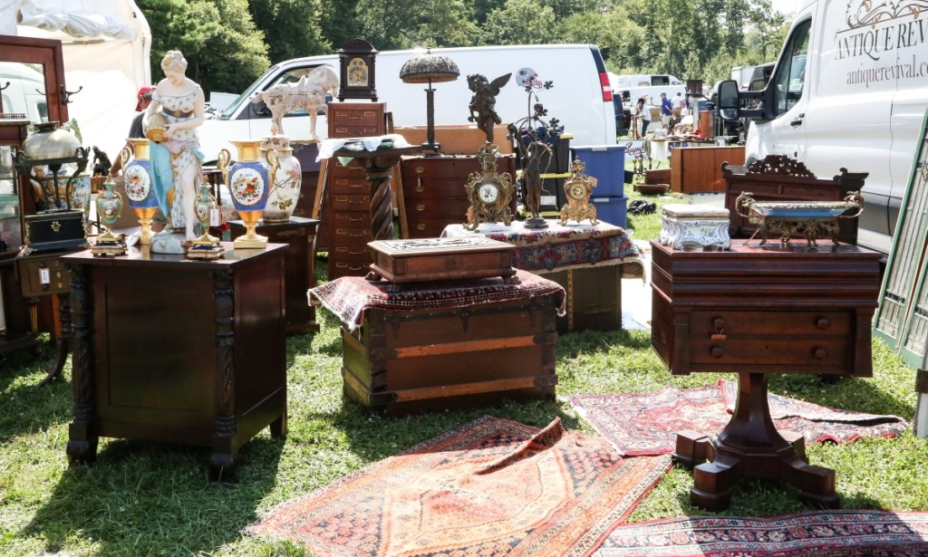 Continental taste was on show at Antique Revival, Big Flats, N.Y. —Dealer's Choice