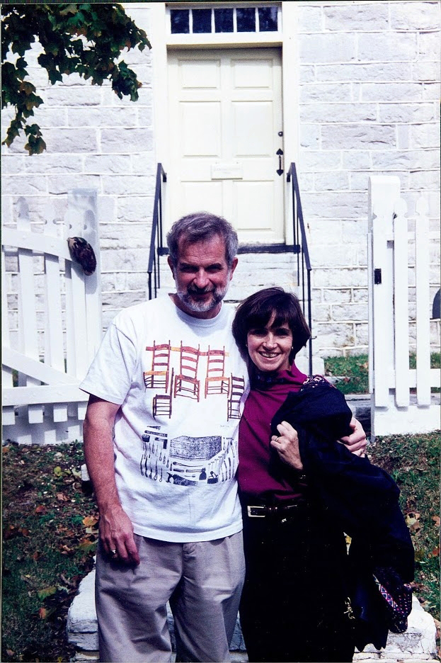 Chuck and Brenda Muller in an undated photograph. Chuck wore his passion on his shirt.