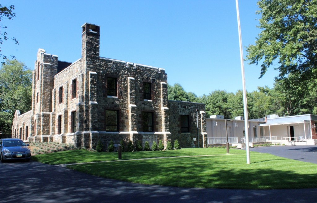 Westport MoCA's new home at 19 Newtown Turnpike in a refurbished circa 1920s building is three times the size of its former location on Riverside.