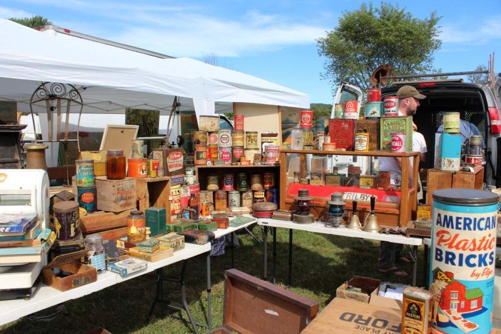 This is just the second year that Next Generation Antiques, Windsor, Vt., has been doing Brimfield. They only show in May and September.            —May's