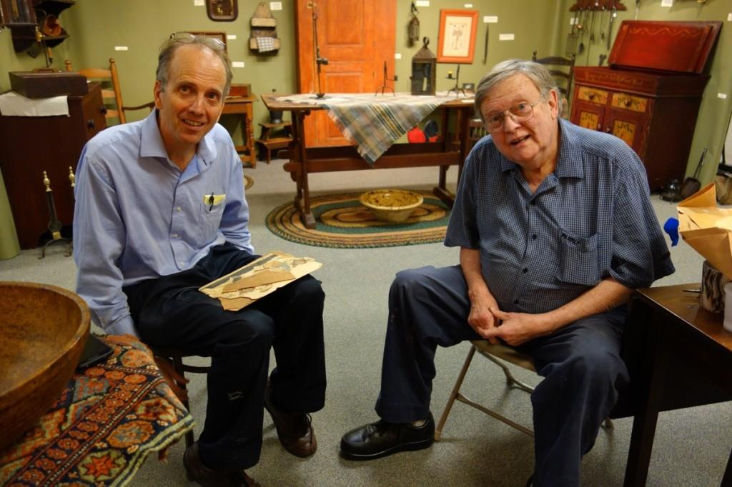 Philip Bradley and Paul DeCoste, September 2015.   —Decoste photo