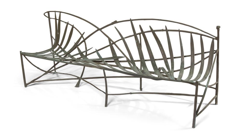 100719_Claude_Lelanne_Garden_Bench_Heritage_Auctions