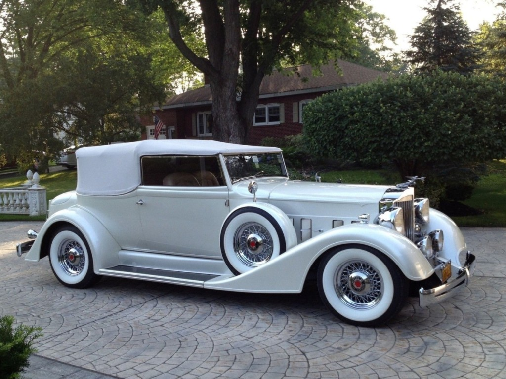 """About this 1934 Packard Victoria, Bill Windham said, """"For those who want a true classic car with none of the hassle, this Packard custom is for you,"""" and a bidder agreed, paying $134,750 for the privilege of owning this elegant ride."""
