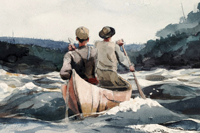 Two Takes On Winslow Homer