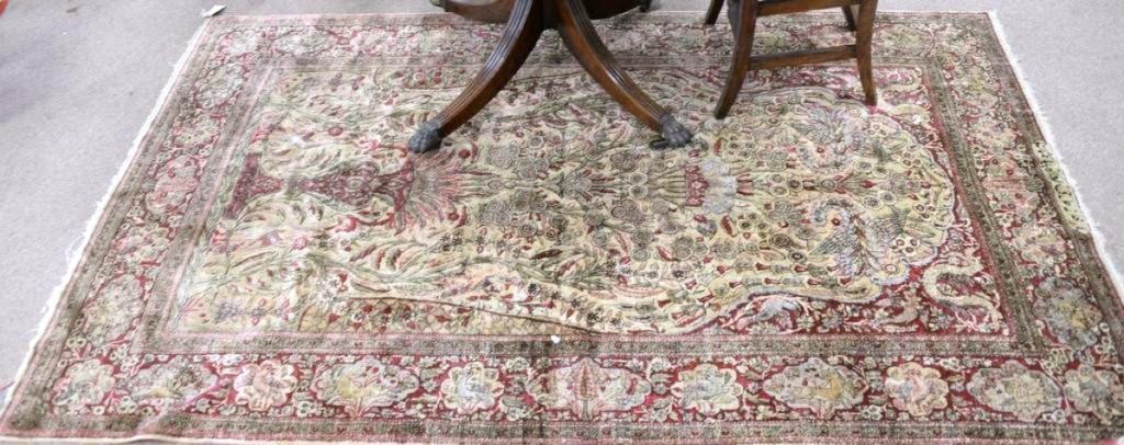 AB Nadeau's rug