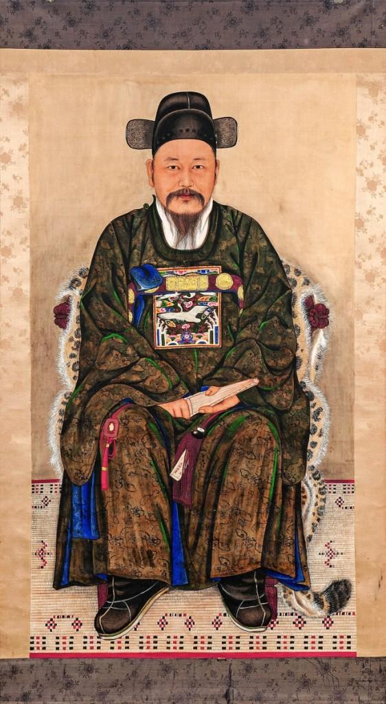 AB Skinner Chinese portrait