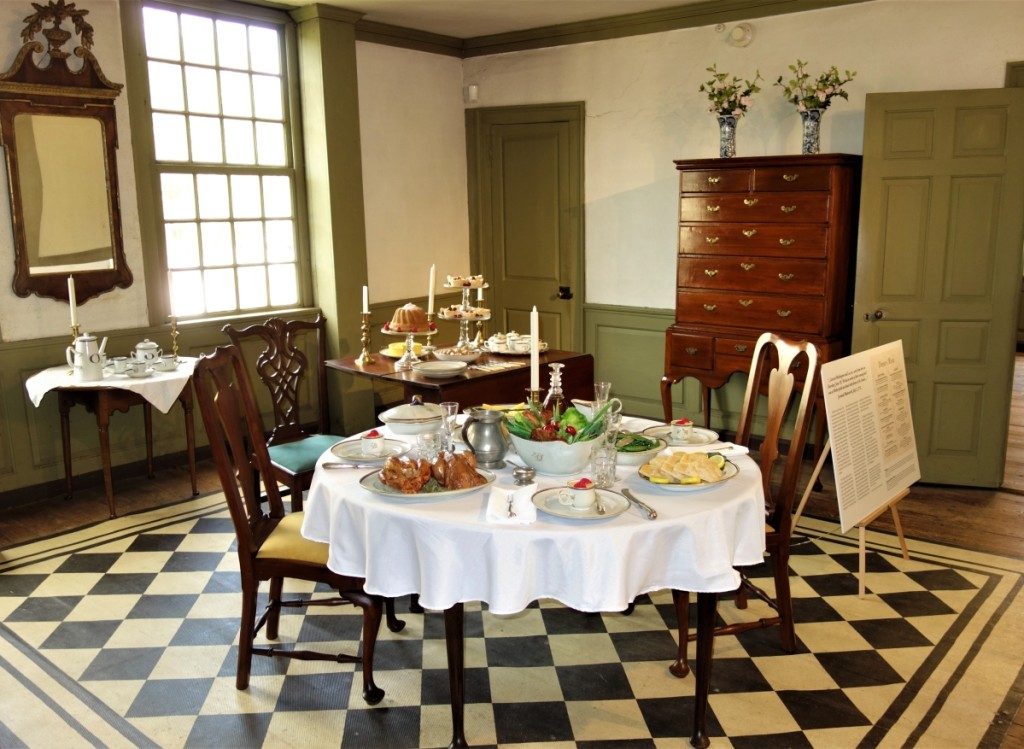 Deane House dining room.