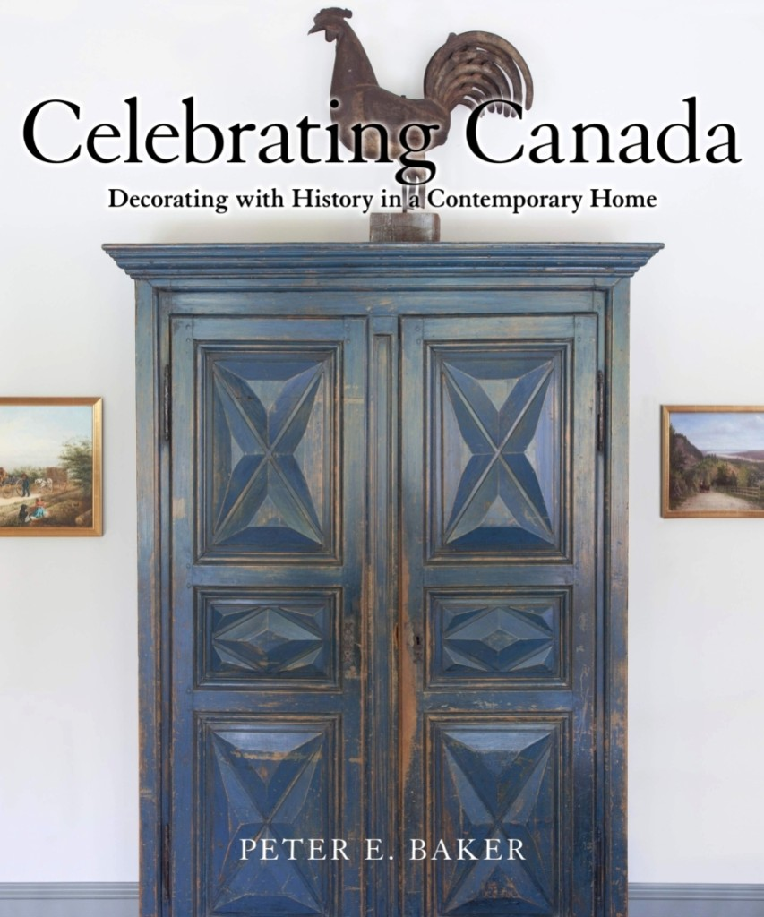 Peter Baker's 2017 book Celebrating Canada: Decorating with History in a Contemporary Home featured the Canadiana collection of Ottawans Joan and Derek Burney. Shown on the book's cover, an Eighteenth Century Quebec armoire with diamond-point panels achieved $53,150. From Quebec and dating to the mid-Nineteenth Century, the full-bodied rooster weathervane made $7,964.
