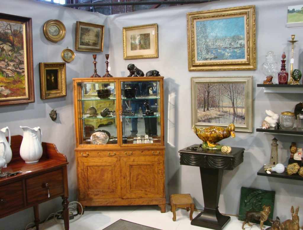 Debbie Turi, Roseland, N.J., really liked this small Biedermeier display cabinet. Circa 1870, she priced it $1,850.