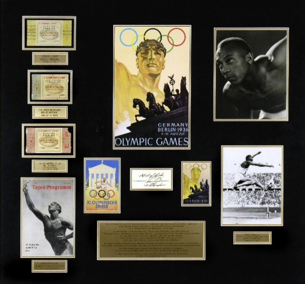 Jessie Owens, 1936 Olympics, Midwest collection.