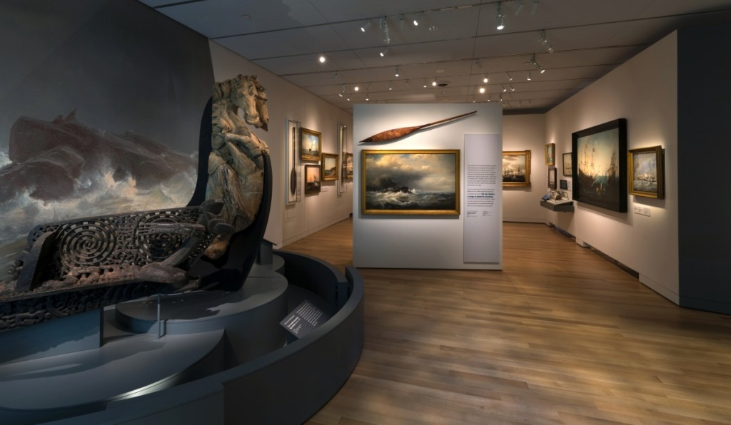 Installation view of the Maritime gallery. © 2019 Peabody Essex Museum. Kathy Tarantola photo.
