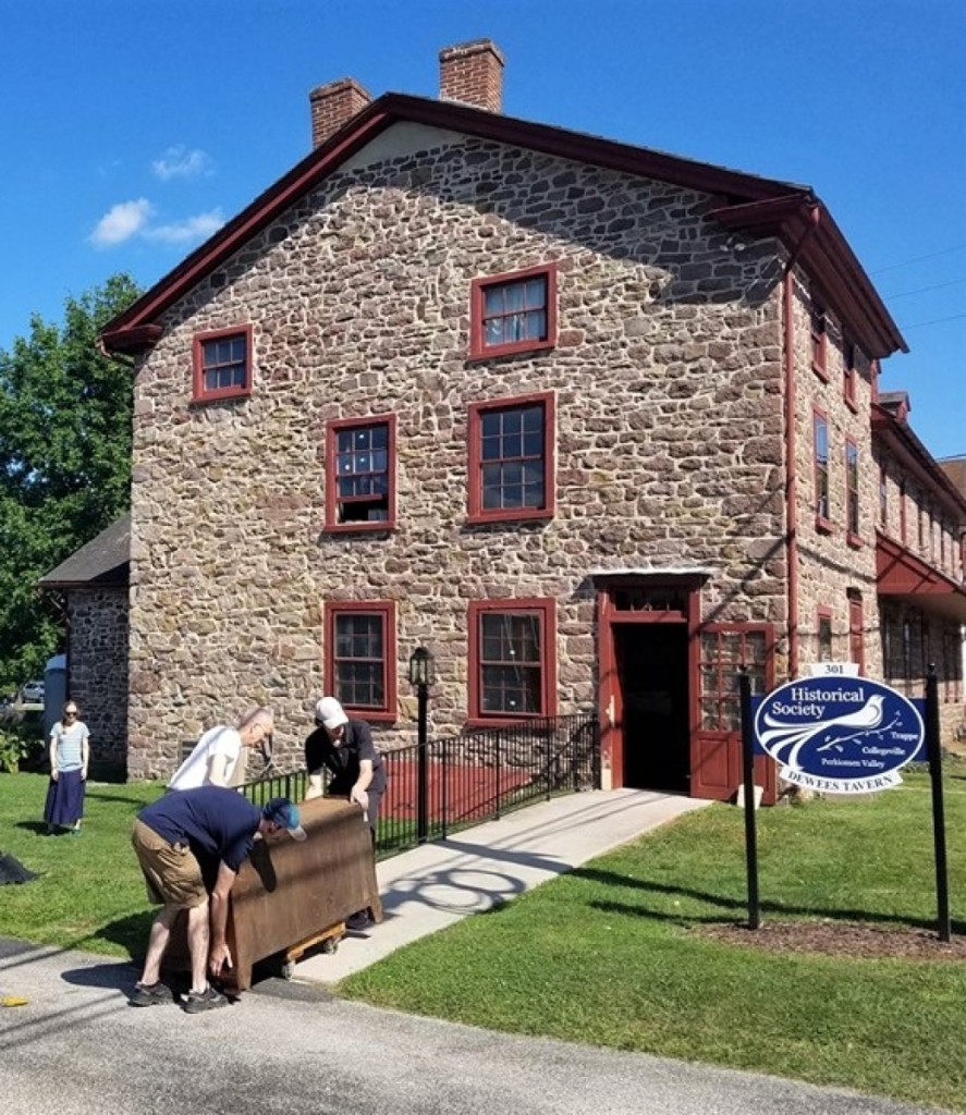 The earliest section of Dewees Tavern dates from the mid-1700s. Over the years, the building served as a tavern, boarding house, polling place and stagecoach stop.
