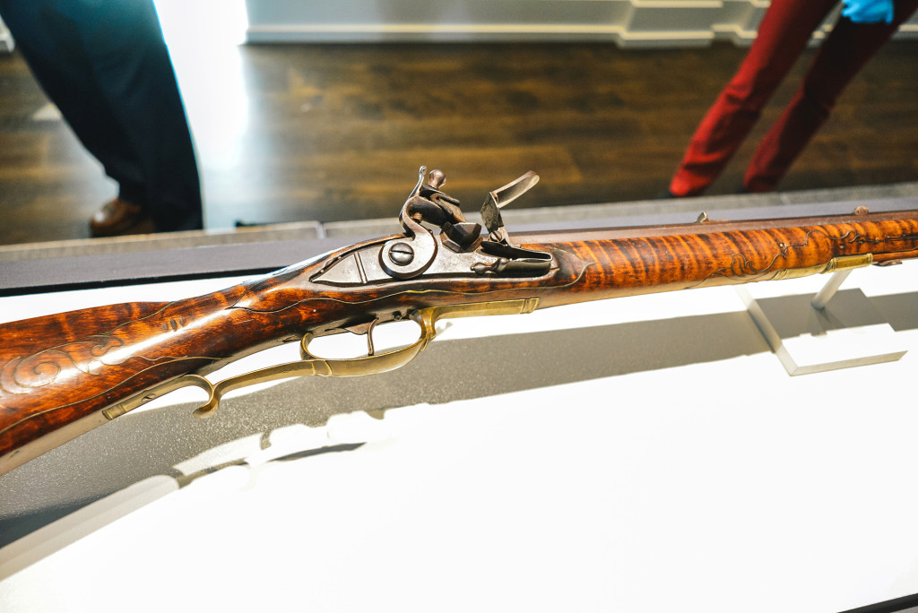 After nearly five decades missing, this Kentucky longrifle was returned to the Pennsylvania Society of Sons of the Revolution on November 1 in a ceremony at the Museum of American Revolution, where it will go on display immediately.