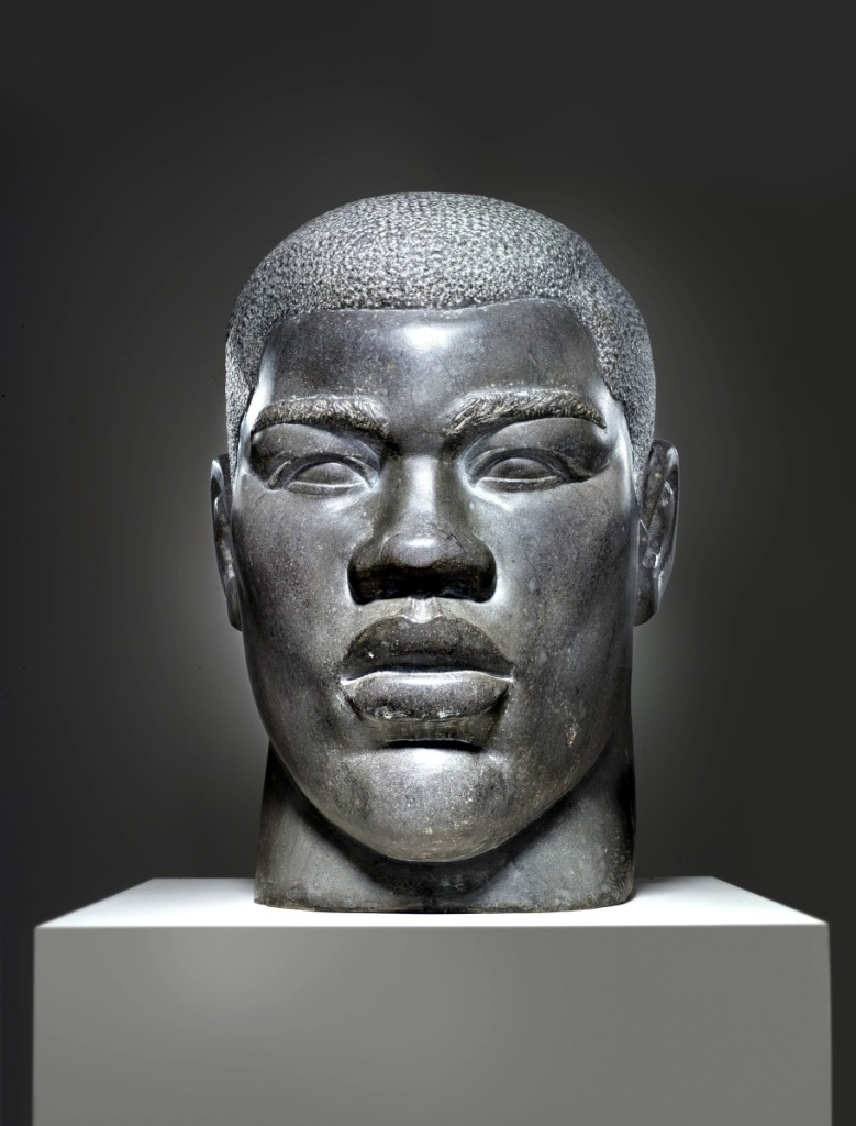 """""""Joe Louis"""" by Ruth Yates (American, 1891-1969), New York City, 1940. Marble. The Wolfsonian–FIU, The Mitchell Wolfson Jr Collection."""