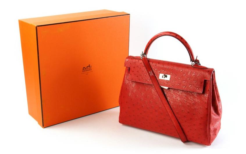 Hermes bag cropped