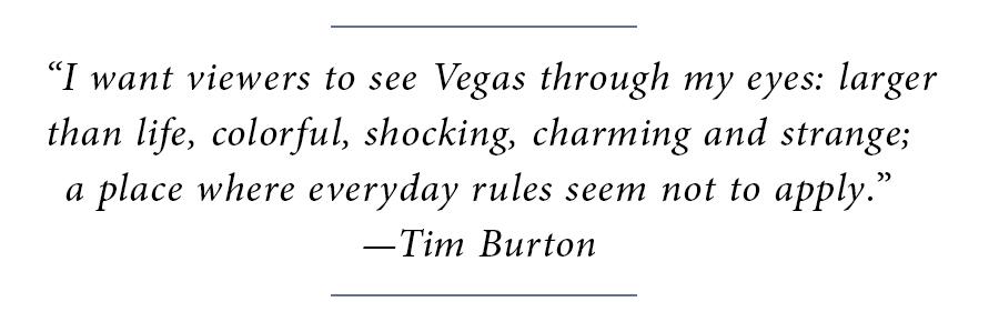 Lead - Tim Burton Block Quote