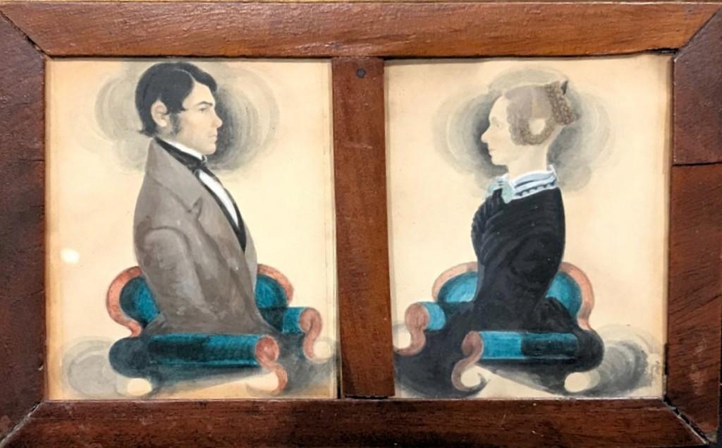 AB Coyle's miniature portraits