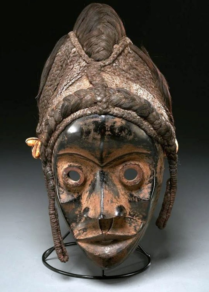 The top African work was found in this Dan Peoples mask from the Ivory Coast, Twentieth Century, which sold for $18,750. It was deacessioned from the Newark Museum to benefit future acquisitions. Millea said they saw international bidding from Denmark, France and Belgium pushing many of the pieces from this collection in the sale.
