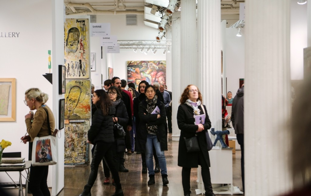 Visitors from around the world gathered at the Metropolitan Pavilion January 16-19 to see the 28th edition of the Outsider Art Fair.