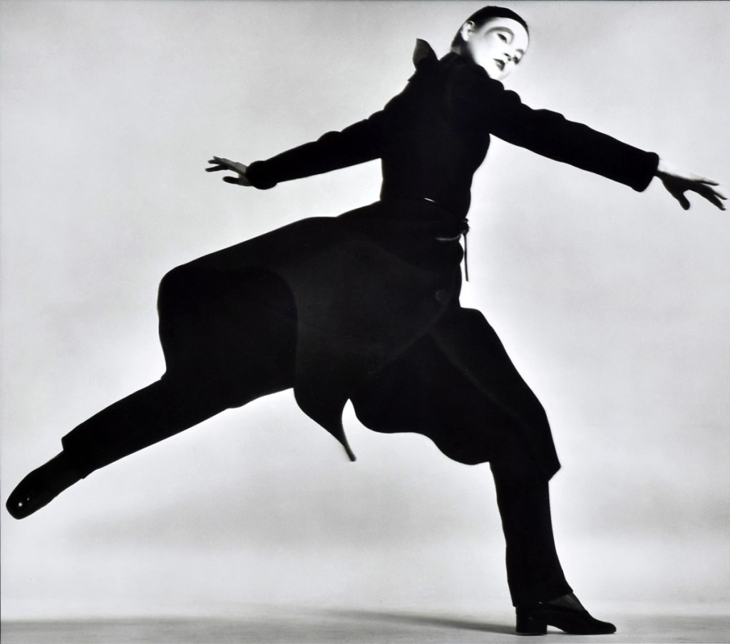Image by Richard Avedon showed model Ingrid Boulting in a coat by Dior, taken in Avedon's Paris studio, January 1970. The 24-by-20-inch photograph, from an edition of 50, included a letter from Avedon to the original owner upon her retirement as his personal bookkeeper. Signed and numbered verso, it was printed in 1981, and sold at $9,600.
