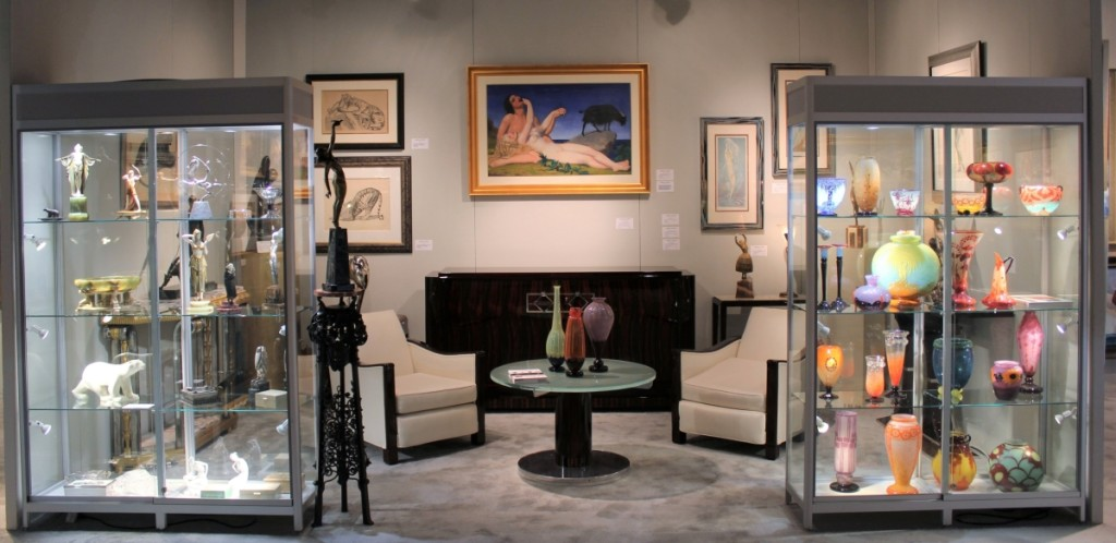 Martell Gallery, Coral Gables, Fla., was at the Palm Beach Show for the first time.