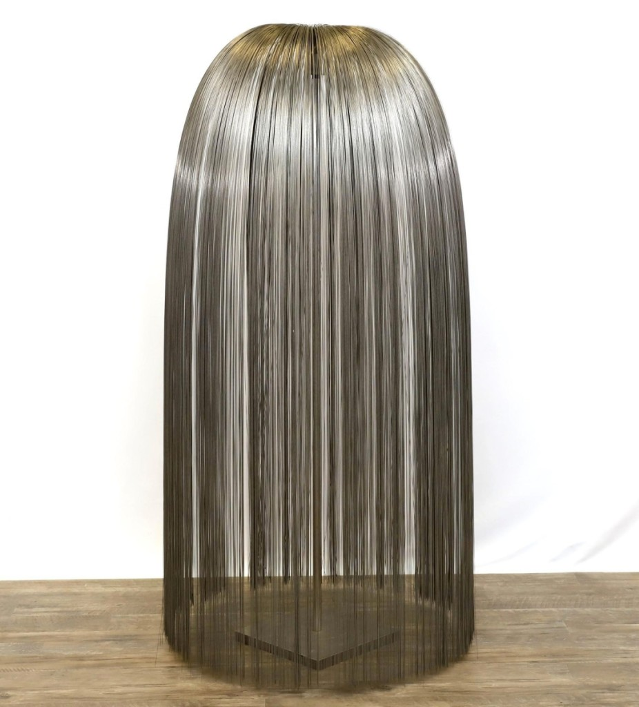 """Harry Bertoia's """"Untitled (Willow)"""" made a strong second-place showing, achieving $66,000 from a phone bidder in Kansas ($20/40,000)."""