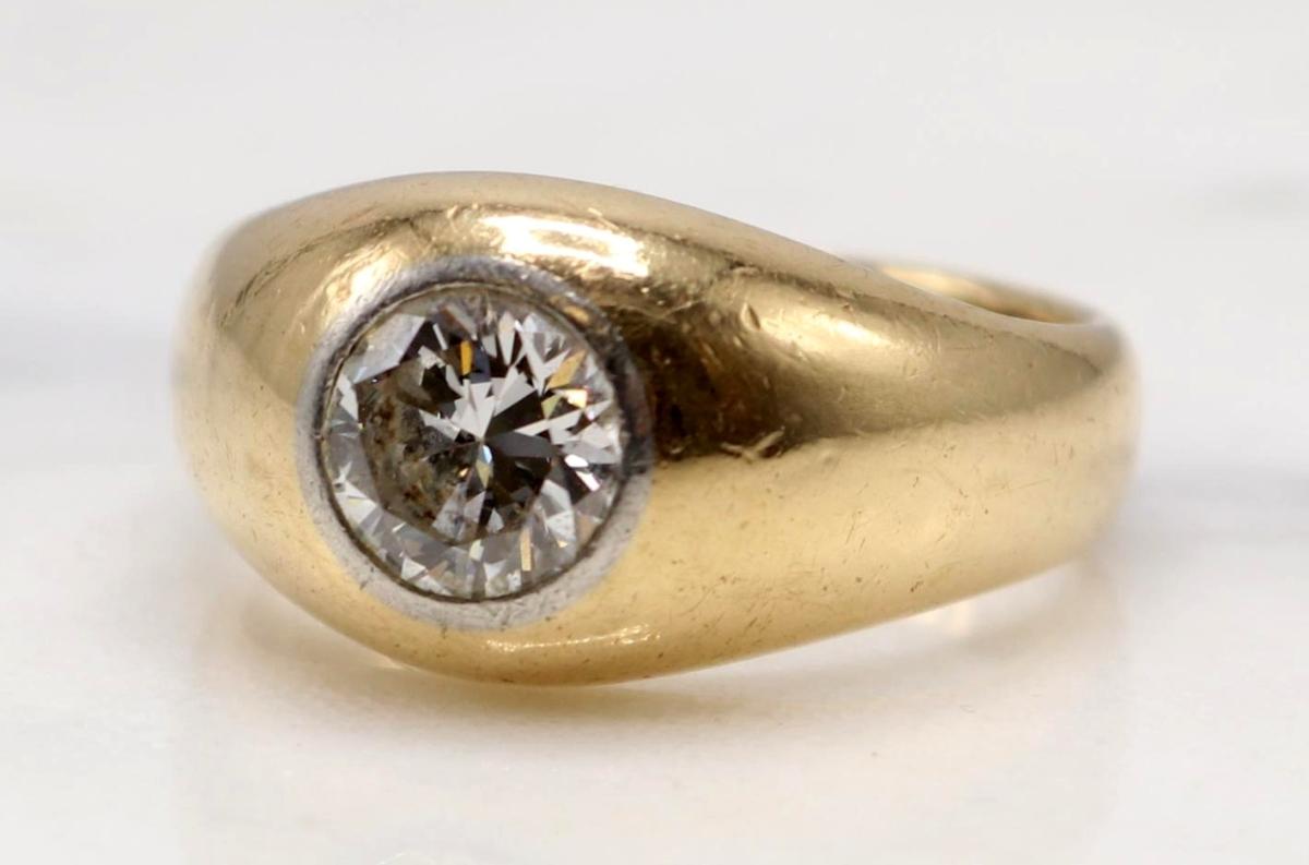 2060 14K diamond ring