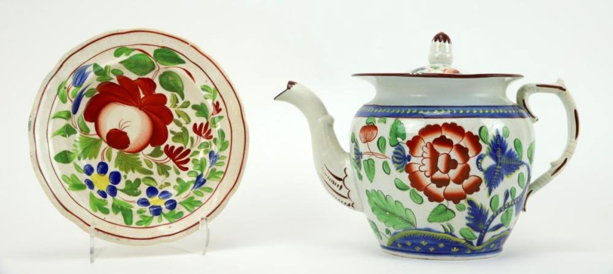 2119 Gaudy Dutch Porcelain