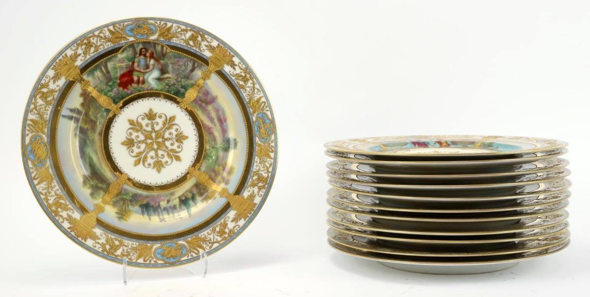 2123 Hutschenreuther Plates