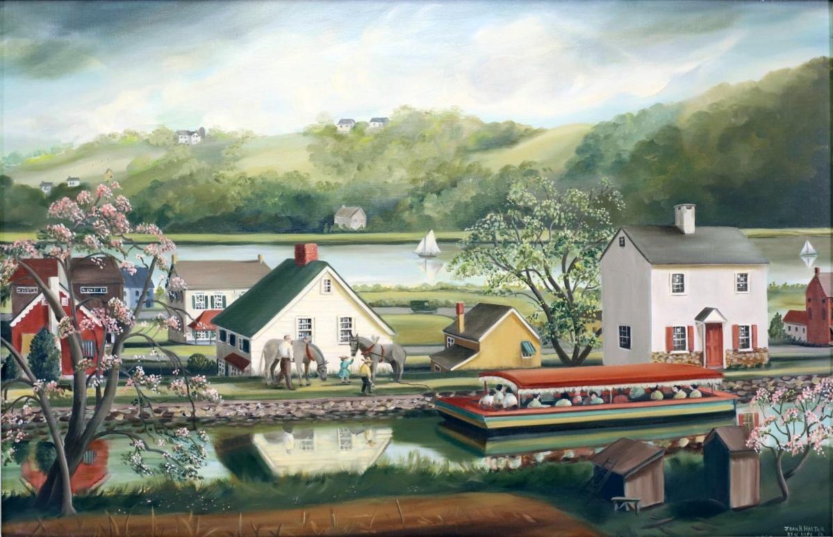 2313 Jean Halter Canal Landscape