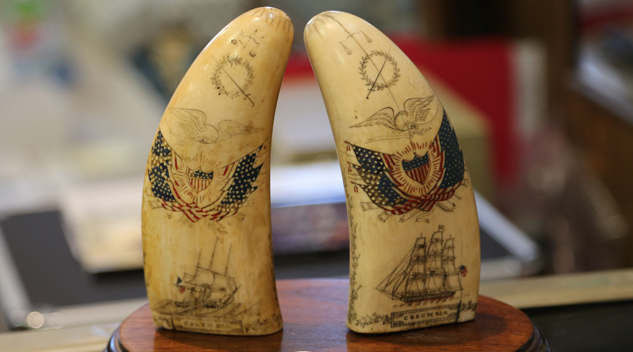 Antique Ivory Ban Thumb