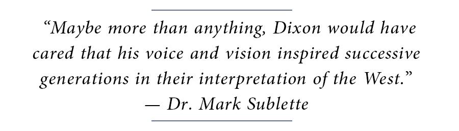 Maynard Dixon Block Quote