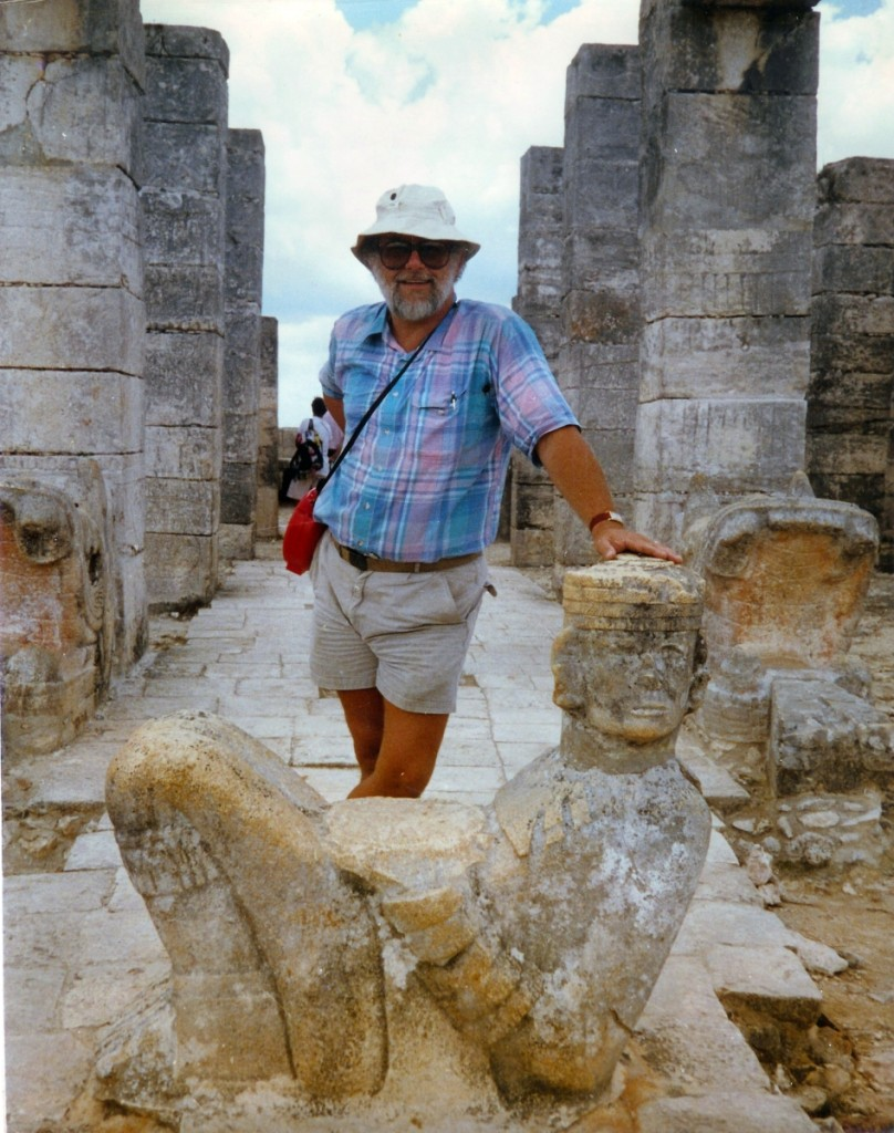 Lee was fascinated with the Mayans and audited several classes at Yale about their culture. He took a trip to Mexico to see the ruins with his oldest daughter, Jennifer.