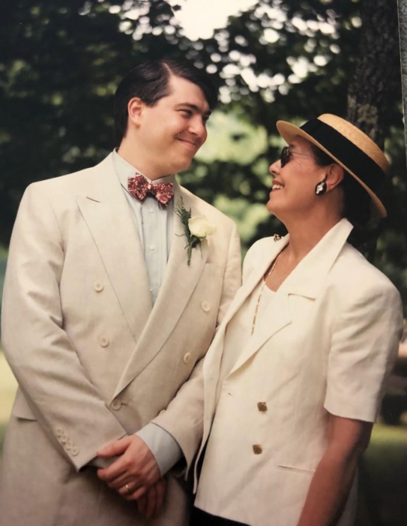 David & Peggy Schorsch, 1992.   Yvette Schorsch photo.