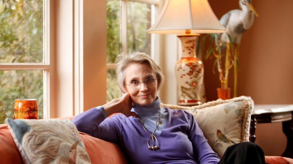Virginia McAlester photographed in her Swiss Avenue home in 2011, Tom Fox photo.