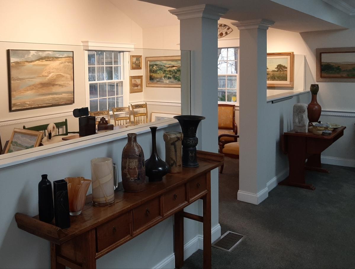 Interior view of Garvey Rita Art & Antiques