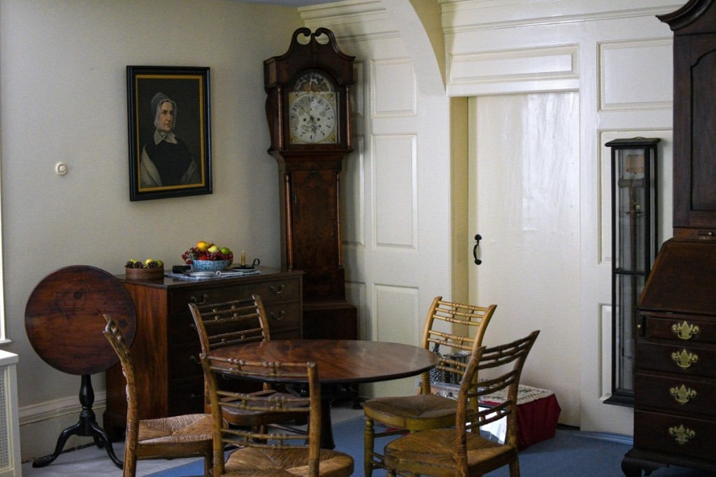 Interior of the Bowne House