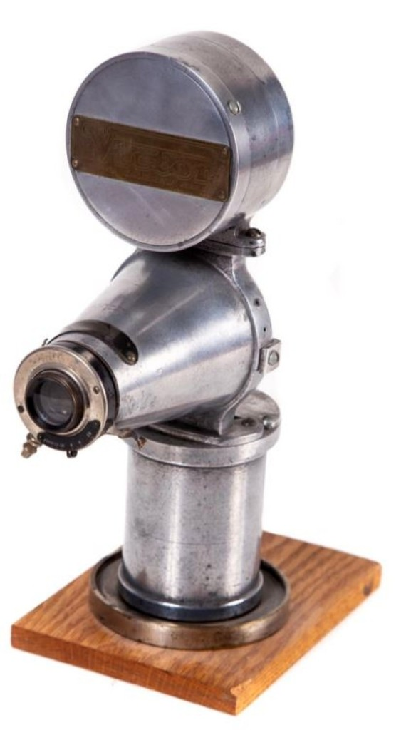 Bidders pushed this Victor Button camera to nearly triple estimate when it sold for $1,845.