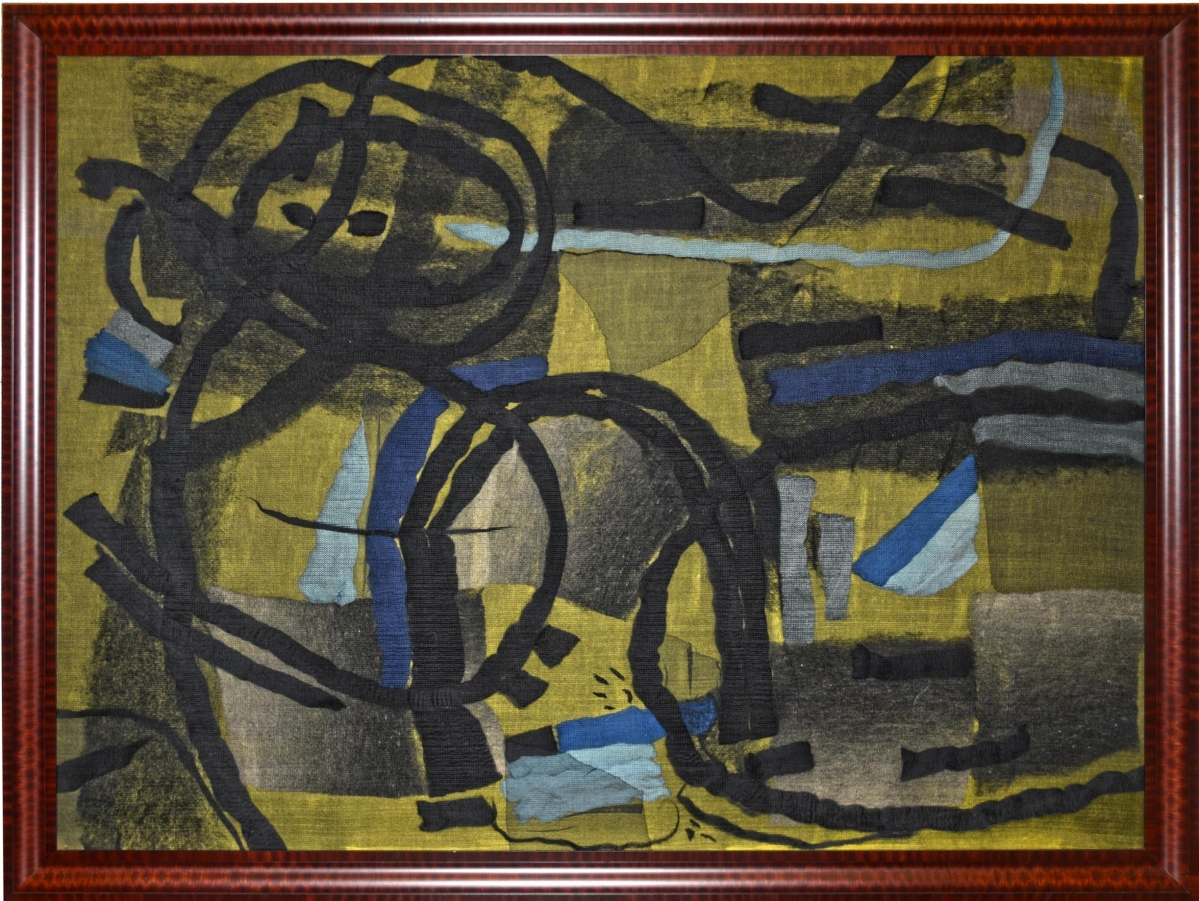 The top lot in the sale was this 1972 tapestry attributed to Federico Aguilar Alcuaz (Filipino, 1932-2011) from a Northern Virginia collection that brought $11,495 from a trade buyer in Europe ($3/5,000).