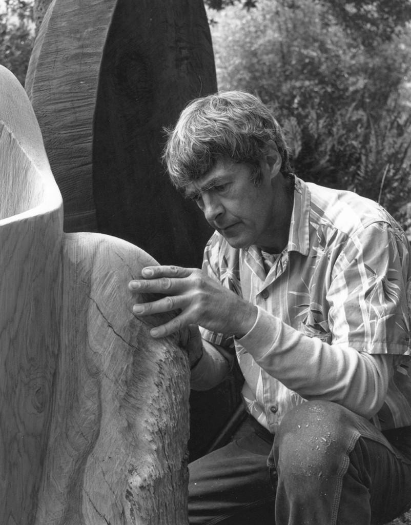 JB Blunk, circa 1985. Thomas Weir photo. ©JB Blunk Collection