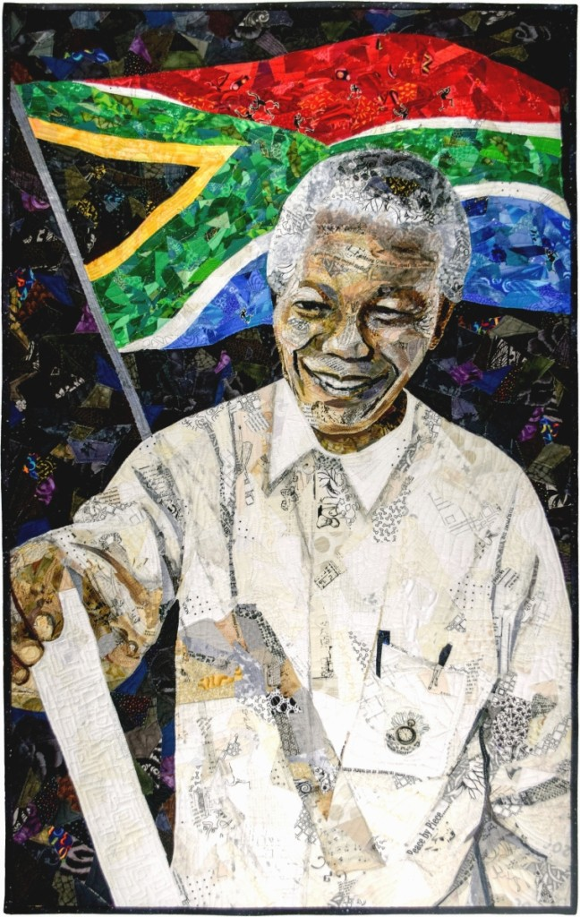 """April 27, 1994: Mandela Votes""   by Margaret Williams, Tucker, Ga."