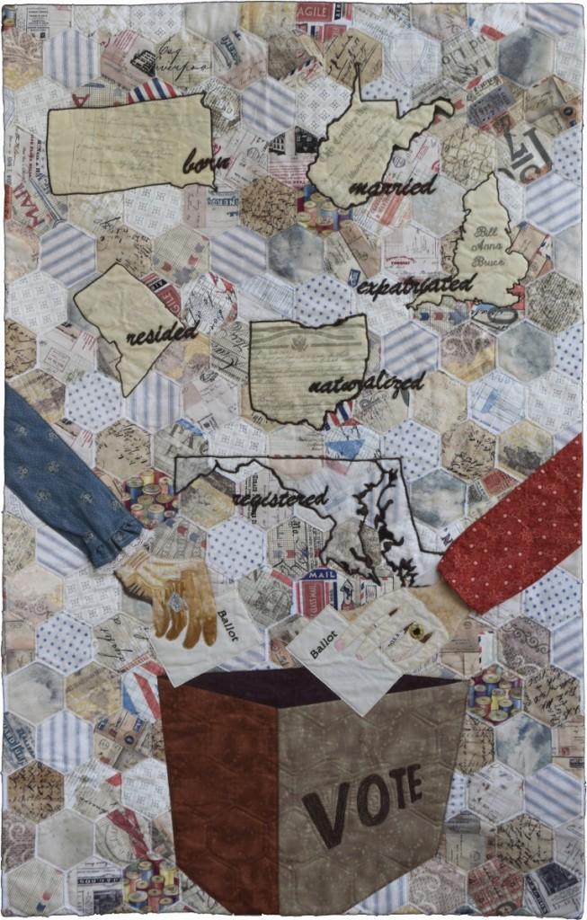 """Suffrage – Long Denied""   by Susanne Miller Jones, Potomac Falls, Va."