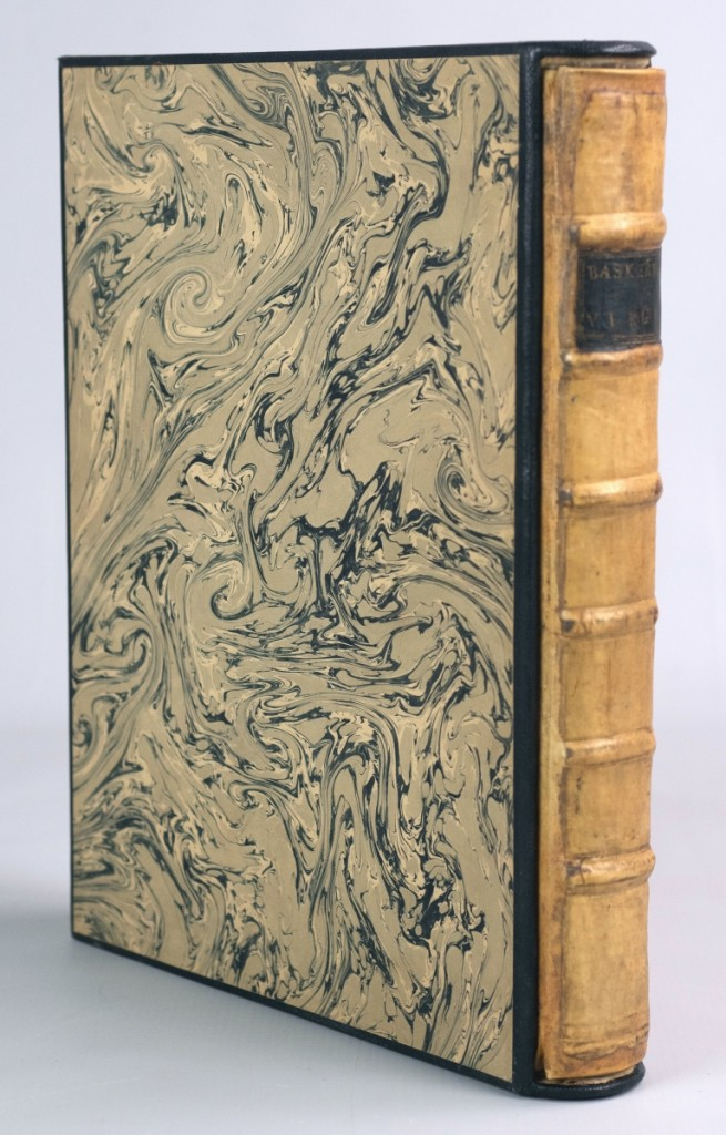 A book housed in a custom slipcase, bound in full vellum and with the bookplate of Francis Hopkinson slipped past its $600-$1,200 estimate to finish at $54,000.