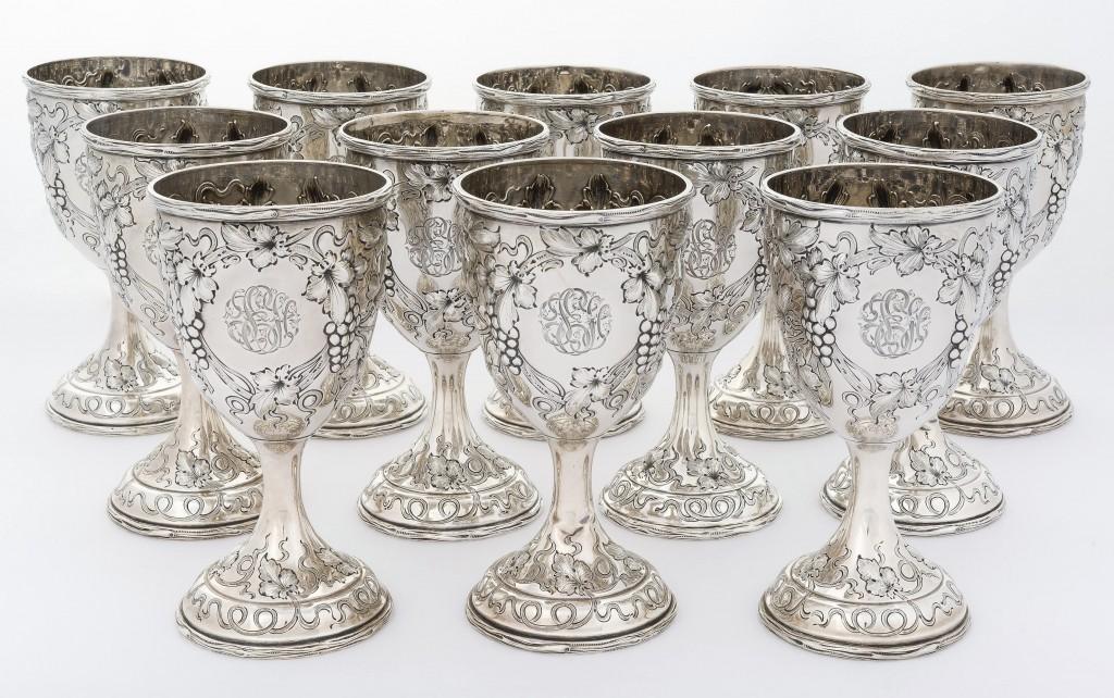 AB Cordier goblets