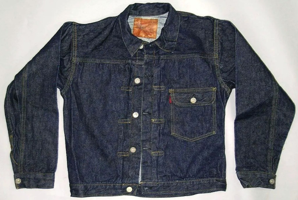 Ringing in at $8,700 was this vintage 1940s Levi's 506XX denim jacket, consigned by a gentleman from the Western United States whose family operated a clothing store in the first half of the Twentieth Century. A number of lots in the sale, including another jacket of the same model, came straight out of storage where they had remained ever since the store shuttered. The other jacket, in a lighter denim, sold for $2,520.