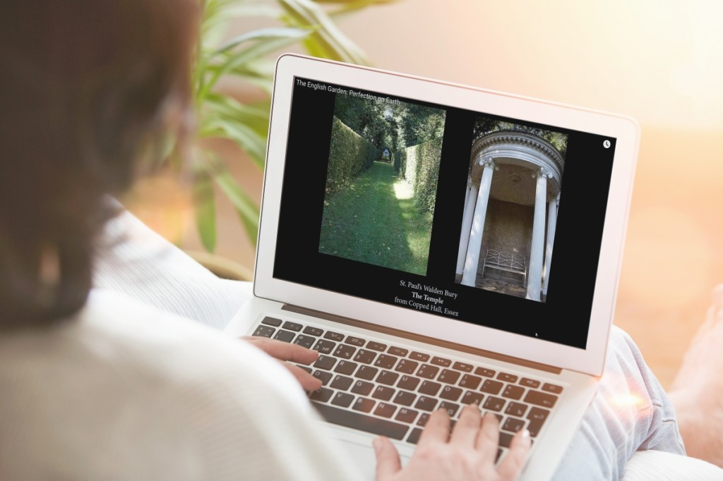 During COVID-19, American Ancestors has converted its   English country house and garden tours with Curt DiCamillo into popular webinars.