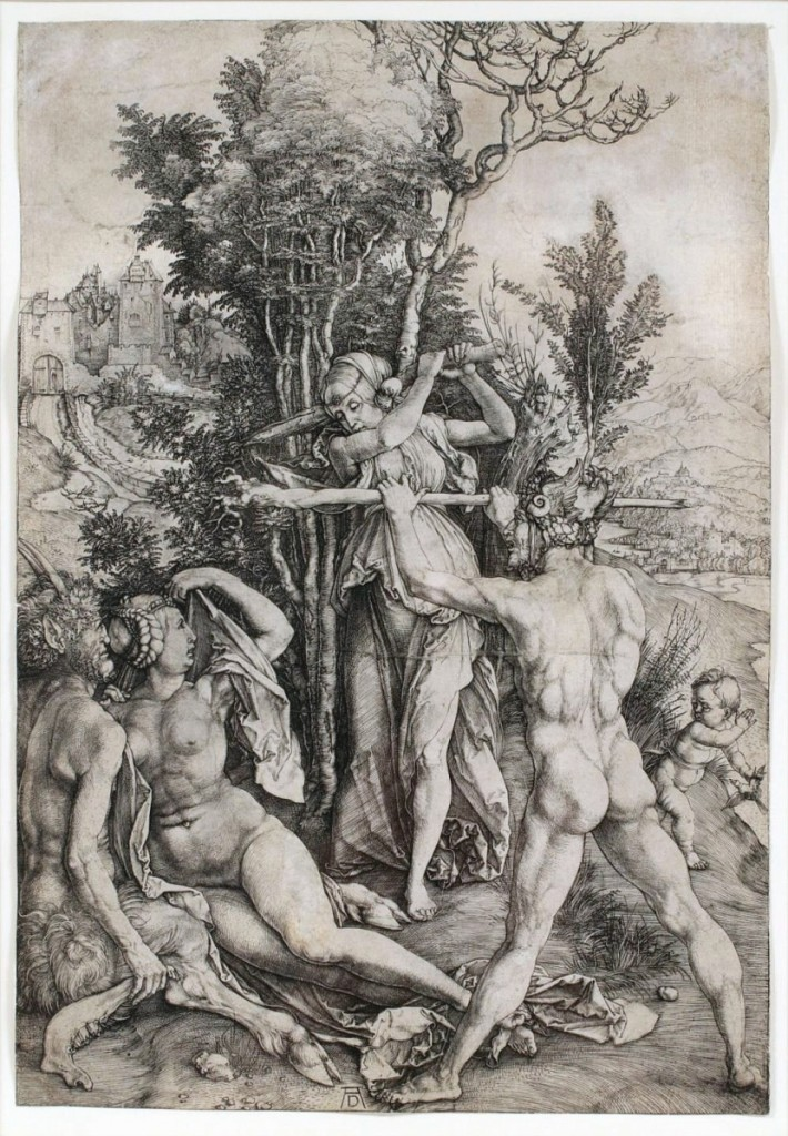 "Topping a Michigan private collection of 16 prints by German Old Master Albrecht Durer was ""Hercules at the Crossroads,"" which sold to an online bidder for $16,120 ($ ,000)."