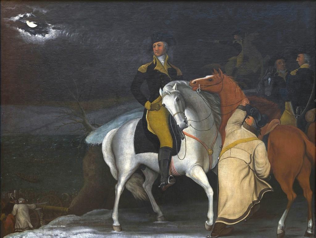 """Penn's Treaty with the Indians,"" Bucks County, Penn., 1830-35. Oil on canvas. Museum purchase, 1958."
