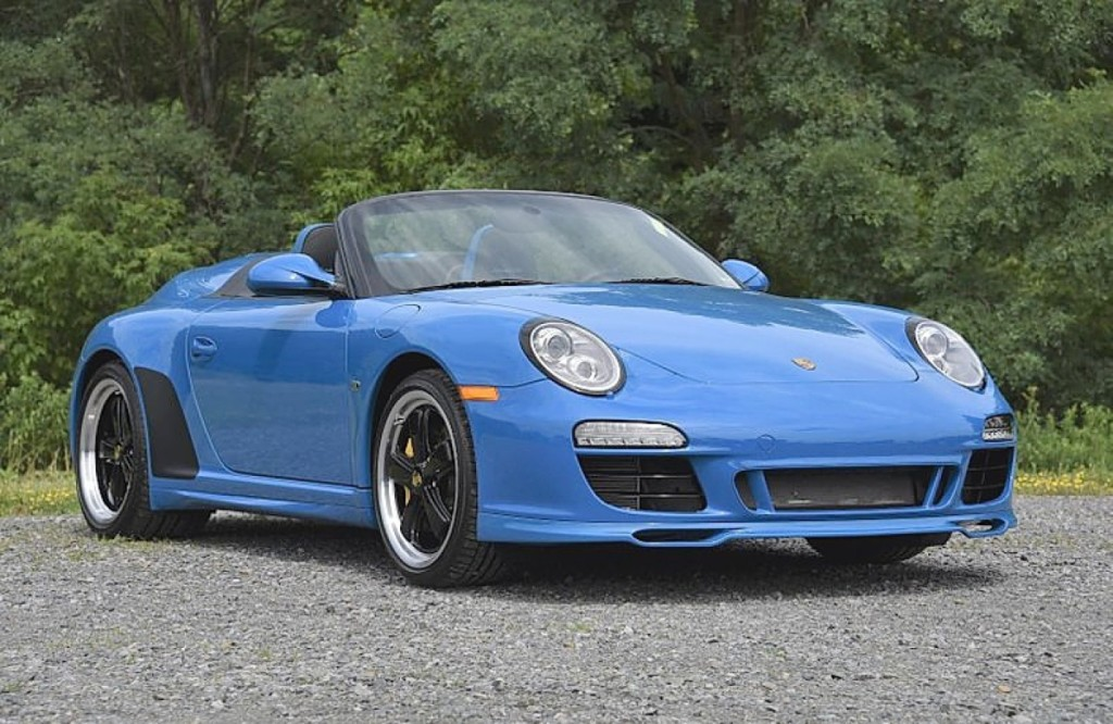 Among the higher earners in the sale was this 2011 Porsche 911 Speedster, which sold for $239,800. It had not been modified by its original owner and numbered 322 of the 356 produced.