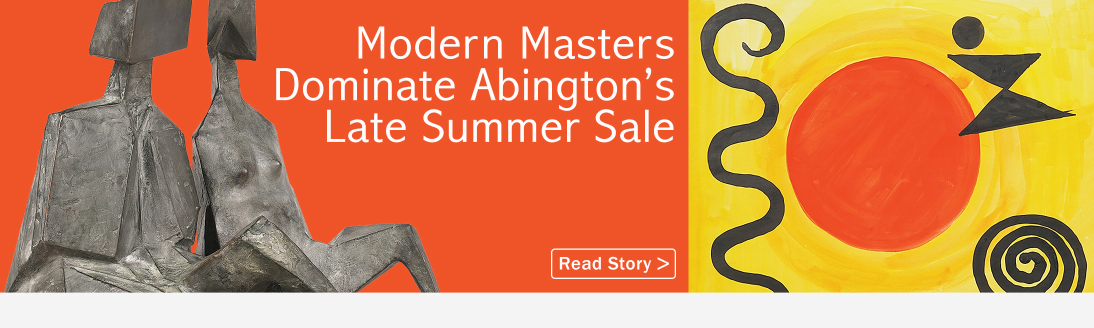Modern Masters Dominate Abington's Late Summer Sale